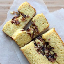 Caramelized Onion and Bacon Cornbread
