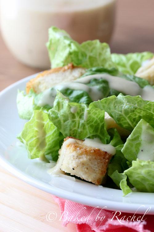 Homemade Caesar Salad Dressing Recipe - bakedbyrachel.com