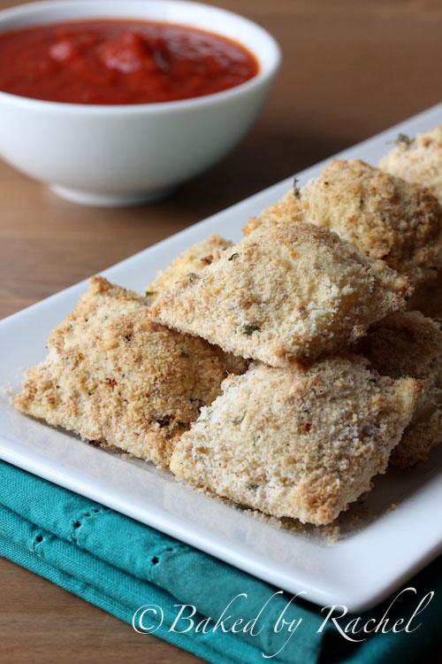 Crispy Baked Ravioli Recipe - bakedbyrachel.com