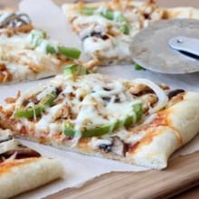 Cajun Chicken Pizza Recipe - bakedbyrachel.com