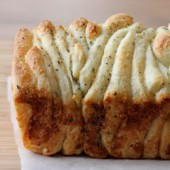 Garlic and Herb Pull Apart Bread Recipe - bakedbyrachel.com