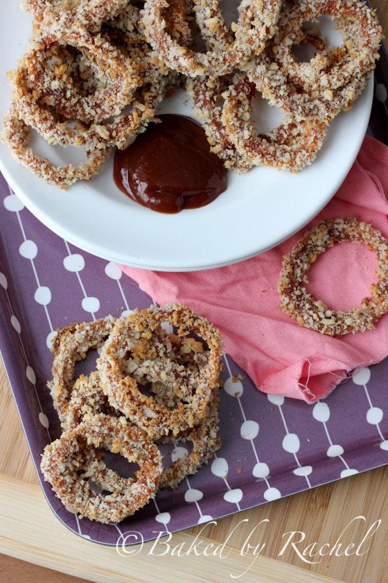 Barbecue Onion Rings Recipe - bakedbyrachel.com