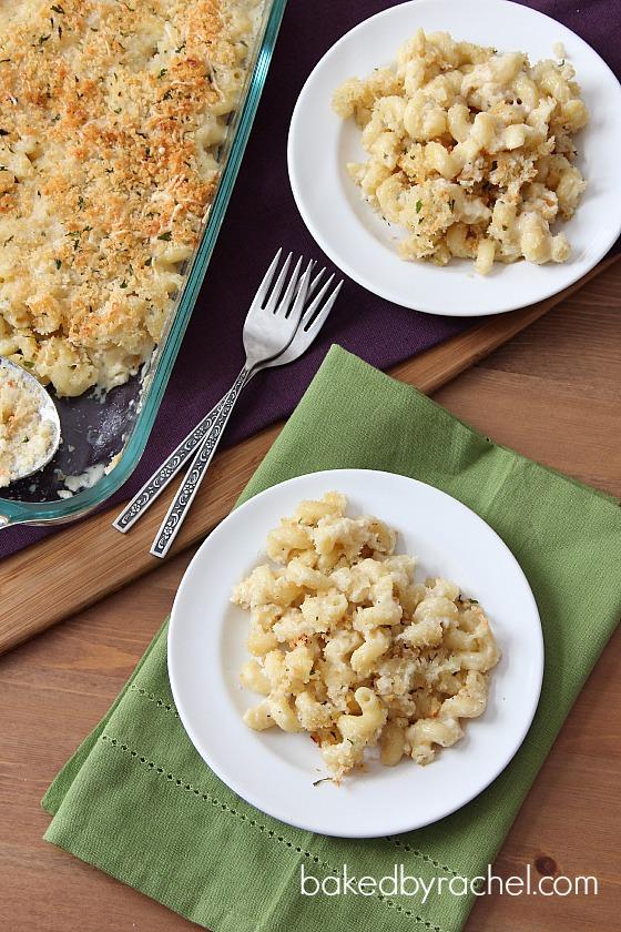 Two Cheese Macaroni Recipe from bakedbyrachel.com