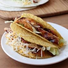 Barbecue Chicken Tacos Recipe - bakedbyrachel.com