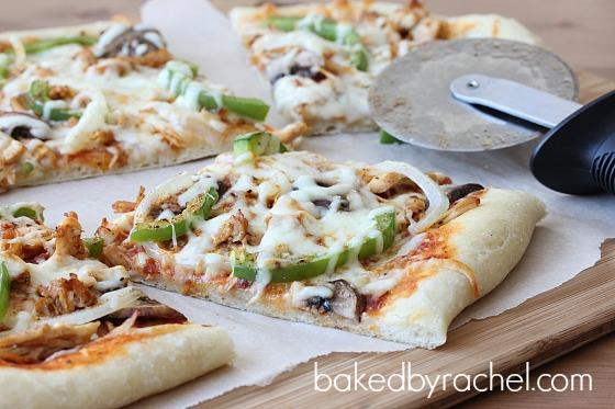 Cajun Chicken Pizza Recipe from bakedbyrachel.com