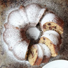 Banana Chocolate Chip Bundt Cake Recipe - bakedbyrachel.com