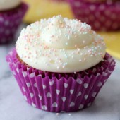 Carrot Cake Cupcakes with Maple Cream Cheese Frosting Recipe - bakedbyrachel.com