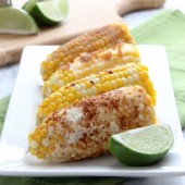 Corn on the Cob: Four Ways from bakedbyrachel.com
