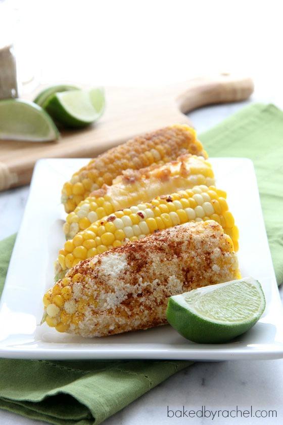 Corn on the Cob: Four Ways from bakedbyrachel.com