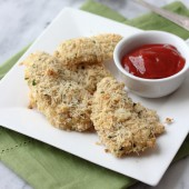 Two Cheese Panko Chicken Tenders