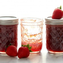 Homemade Strawberry Jam {with canning instructions}