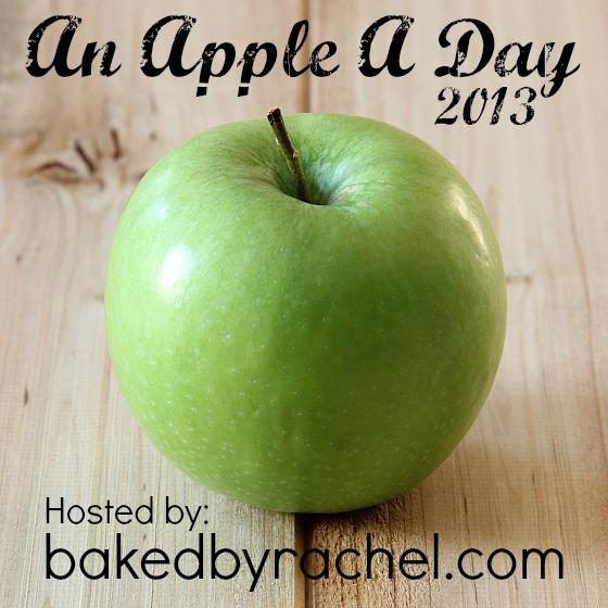 An apple a day party at bakedbyrachel.com