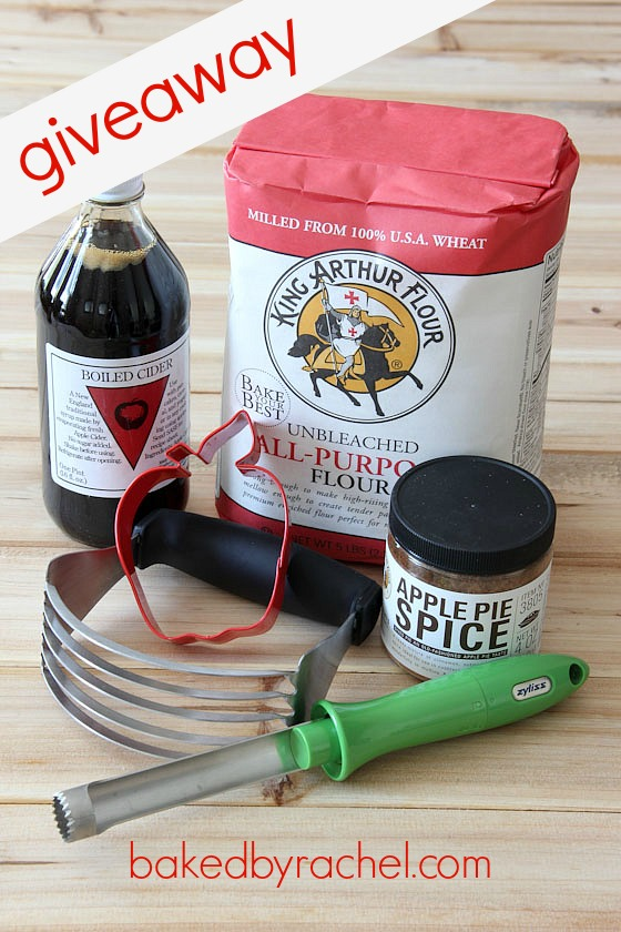 King Arthur Flour Giveaway at bakedbyrachel.com
