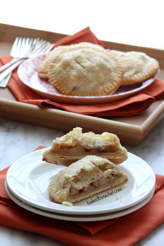 Cinnamon Apple Hand Pies Recipe from bakedbyrachel.com