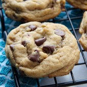 Perfect Soft Batch Pumpkin Chocolate Chip Cookie Recipe from bakedbyrachel.com