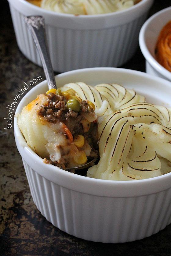 Mini Shepherd's Pie Recipe from bakedbyrachel.com