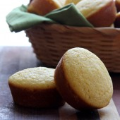Cornbread Muffin Recipe from bakedbyrachel.com
