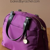 Lo & Sons OMG bag review and giveaway at bakedbyrachel.com