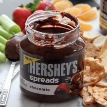 Hersheys Chocolate Spreads at bakedbyrachel.com #spreadpossibilities #hersheys