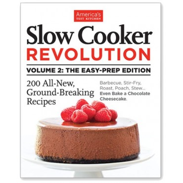 Slow Cooker Revolution 2 Giveaway at bakedbyrachel.com