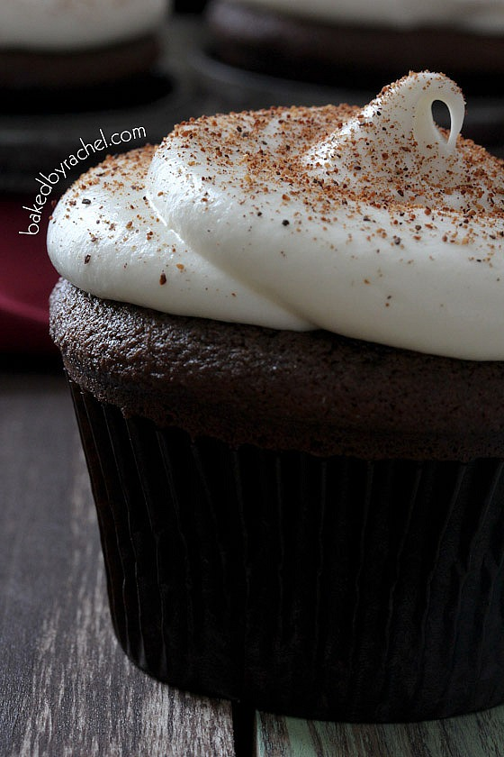 Chocolate Cupcake With Cream Cheese Frosting Cream Cheese Frosting