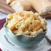 Four Cheese Macaroni and Cheese Recipe from bakedbyrachel.com