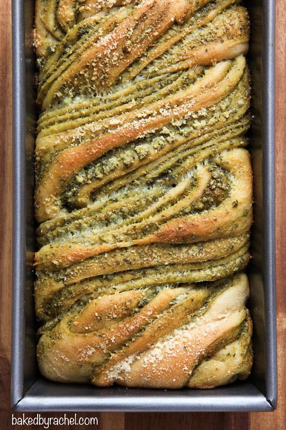 baked by rachel braided pesto bread