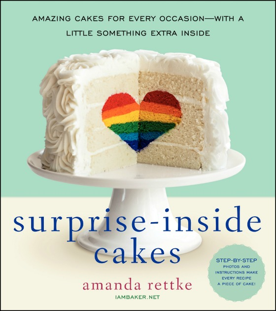 Surprise-Inside Cakes Cookbook Giveaway at bakedbyrachel.com