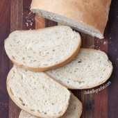 Soft Italian Bread Recipe from bakedbyrachel.com