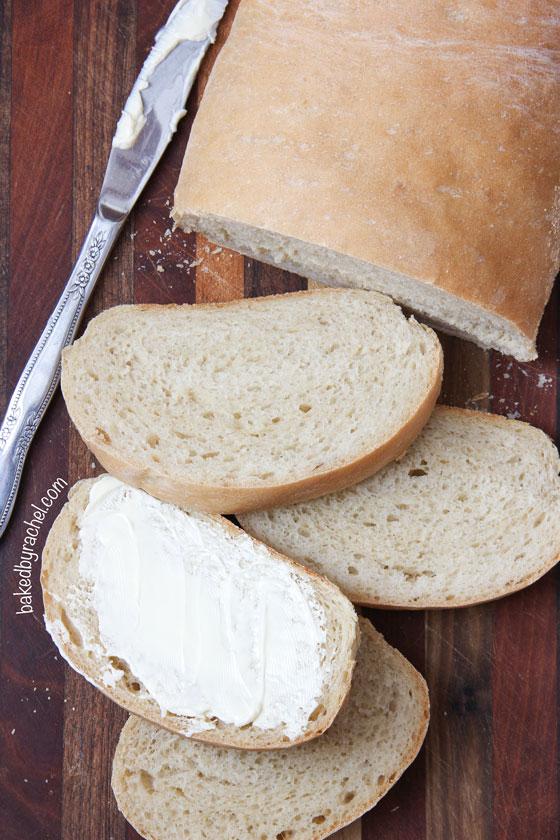 Squishy White Bread Recipe : Soft Italian Bread Baked by Rachel