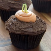 IMG_5552Moist chocolate carrot patch cupcakes! A fun and festive Spring treat! | bakedbyrachel.com1
