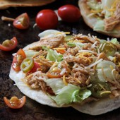 puffy chicken tacos | bakedbyrachel.com