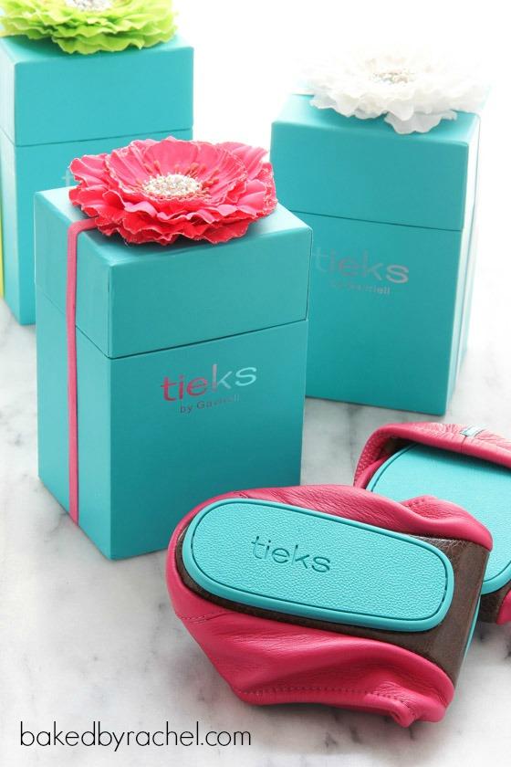 Tieks ballet flats giveaway at bakedbyrachel.com