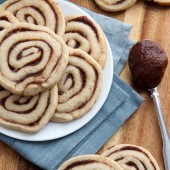Apple Butter Pinwheel Cookie Recipe from @bakedbyrachel