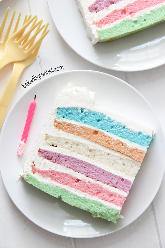 Baked By Rachel 187 Square Pastel Layer Cake