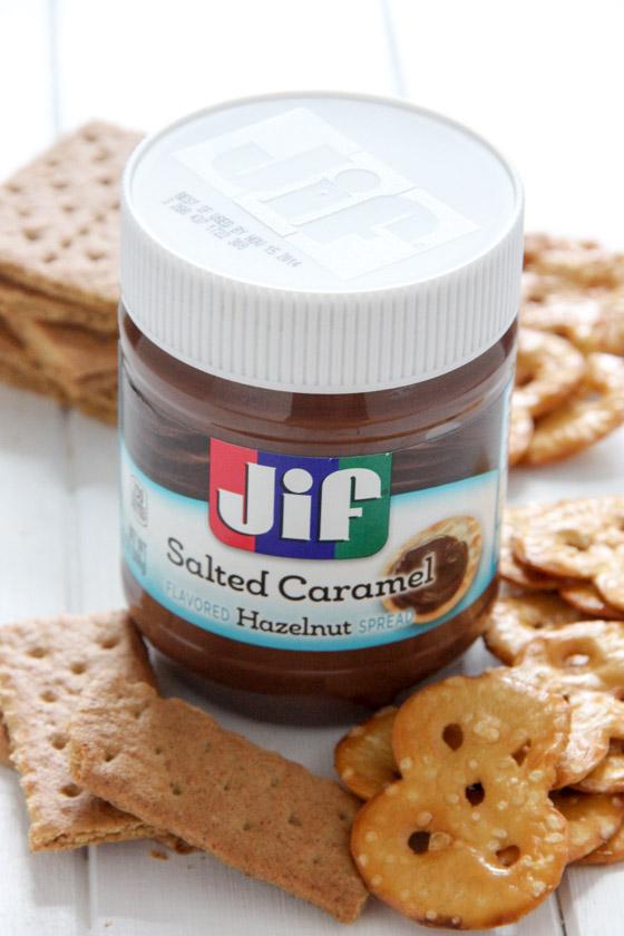 JIF Salted Caramel Hazelnut Spread
