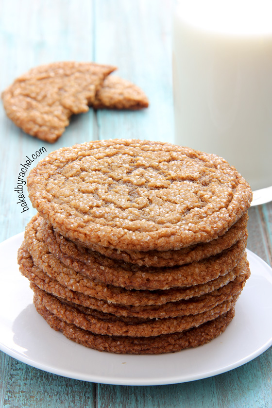 Brown Sugar Crinkle Cookies Recipe — Dishmaps