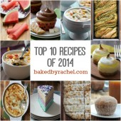 The top 10 reader favorite recipes of 2014 from bakedbyrachel.com