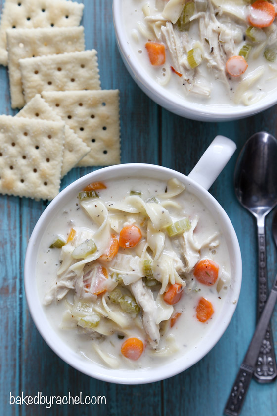 recipe: creamy chicken noodle soup slow cooker [33]