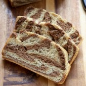 Marbled rye bread recipe from @bakedbyrachel