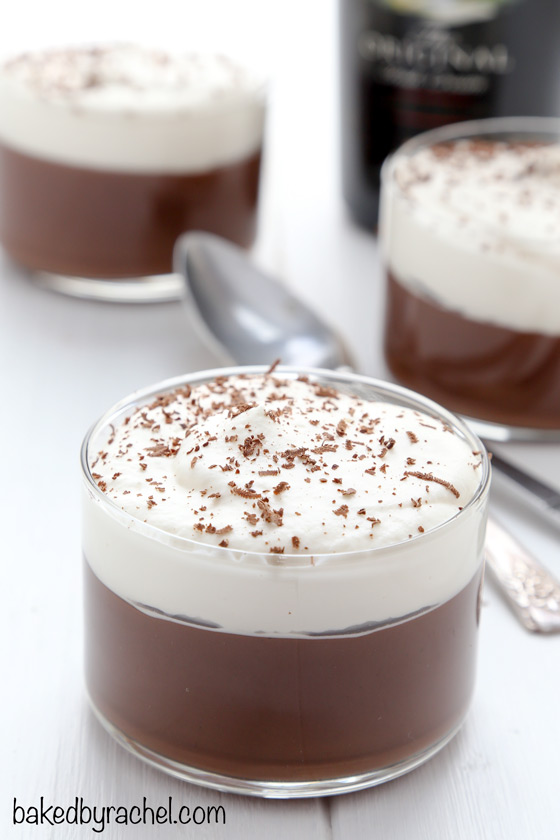 Baileys chocolate pudding with Baileys whipped cream recipe from @ ...