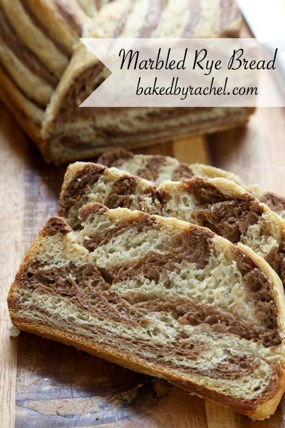 Baked By Rachel 187 Marbled Rye Bread