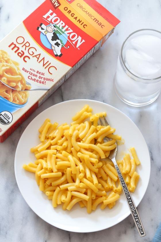 Horizon Organic Mac and Cheese, plus Spring activities