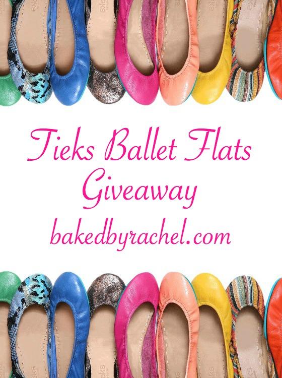 Tieks Ballet Flats Giveaway on bakedbyrachel.com