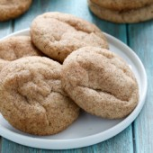 Egg free snickerdoodle cookie recipe from @bakedbyrachel