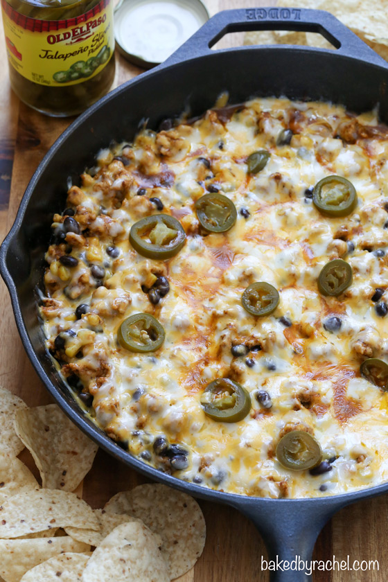 Chicken Enchilada Dip Recipe — Dishmaps