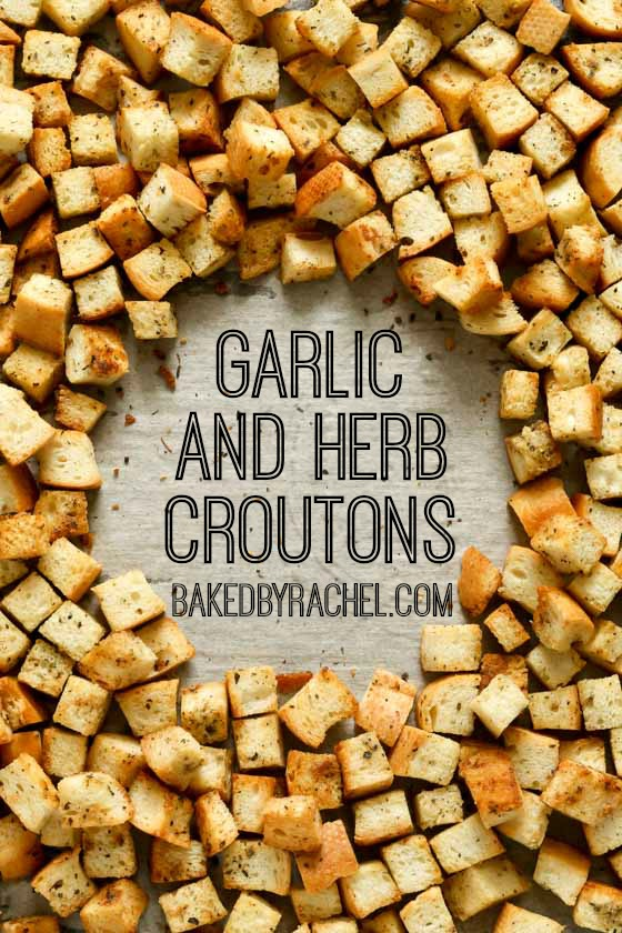 ... total time 30 minutes homemade garlic and herb croutons easy homemade
