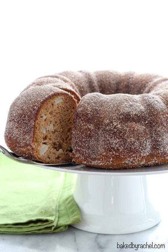 Apple Cider Donut Bundt Cake | Baked by Rachel
