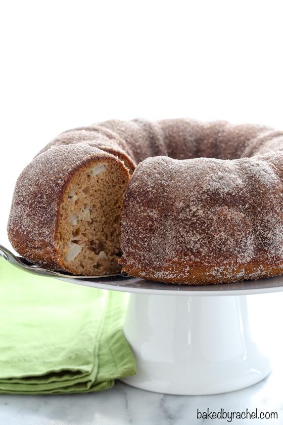 Apple Cider Donut Bundt Cake | Baked by Rachel