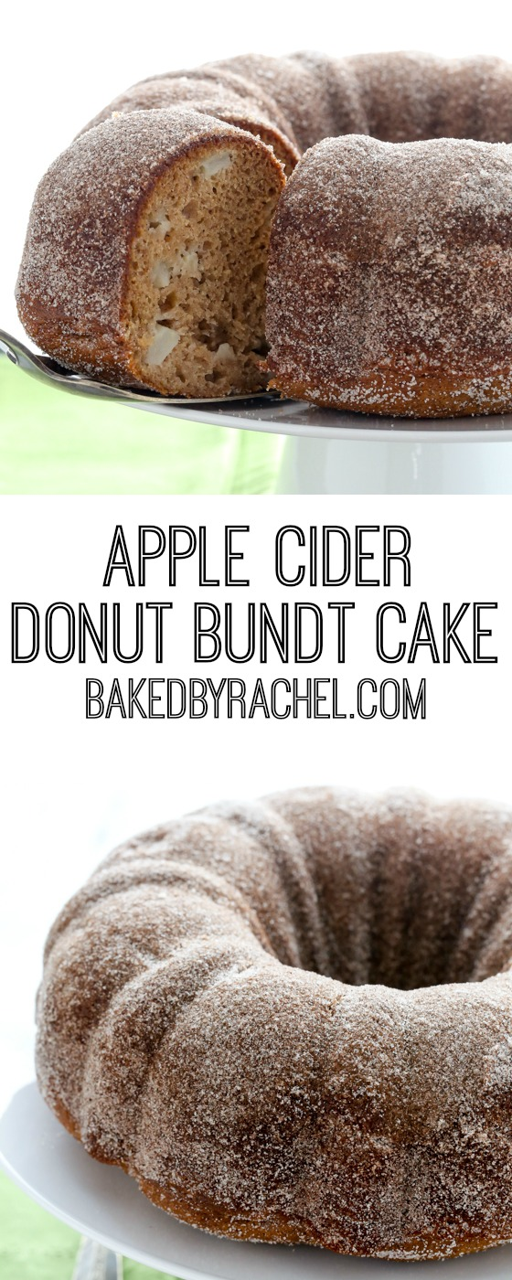 Recipe For Apple Cider Donut Cake